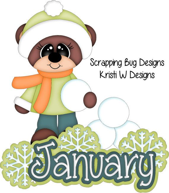 Blizzard clipart january.  best calendar images