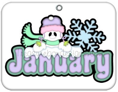 Anniversary clipart month.  best january images