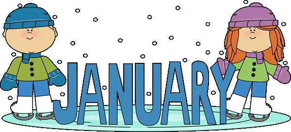 January Birthday Clip Art