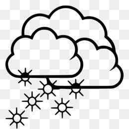 Blizzard clipart line. Snow thunderstorm clip art