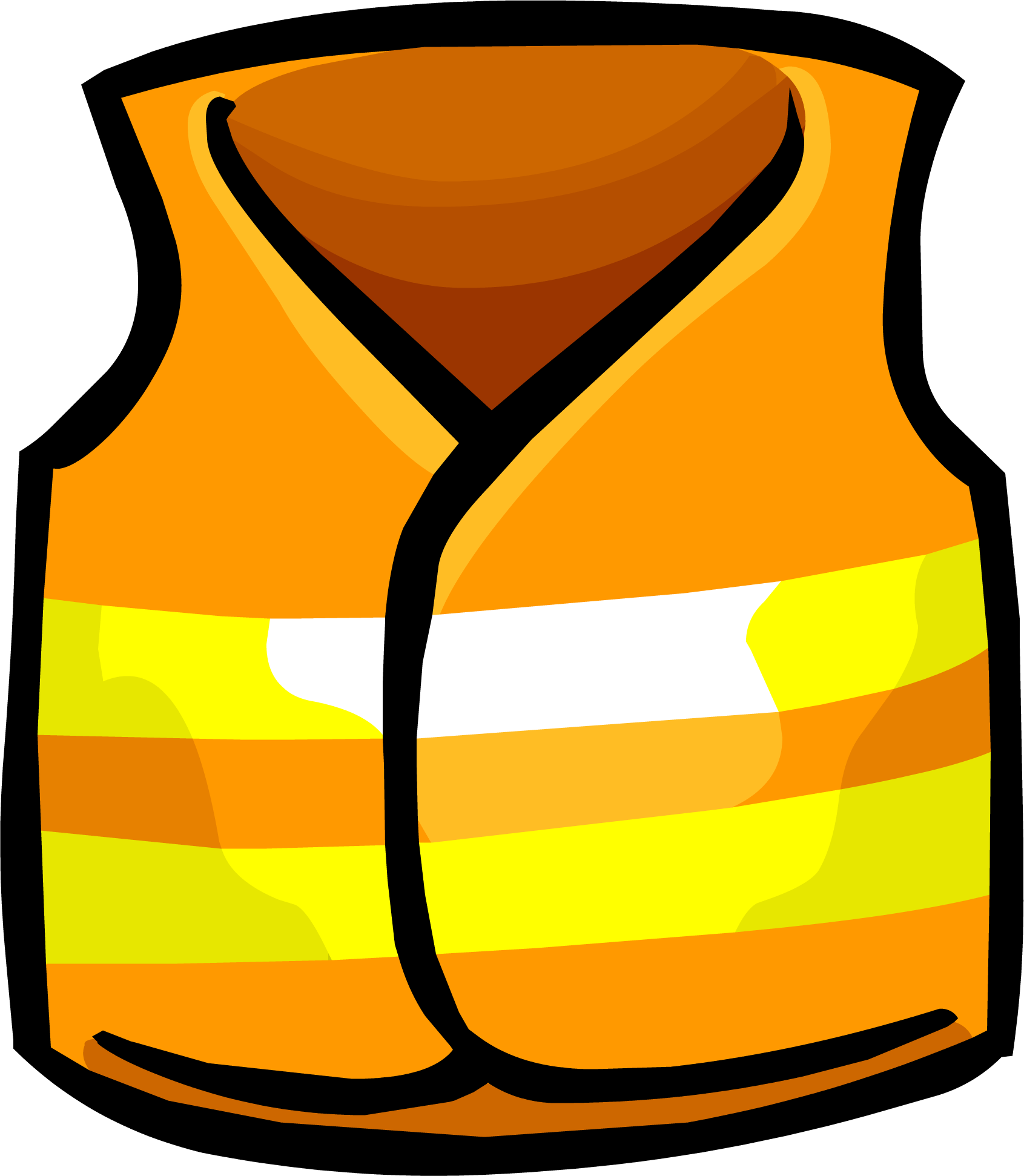 Image vest clothing icon. Blizzard clipart safety