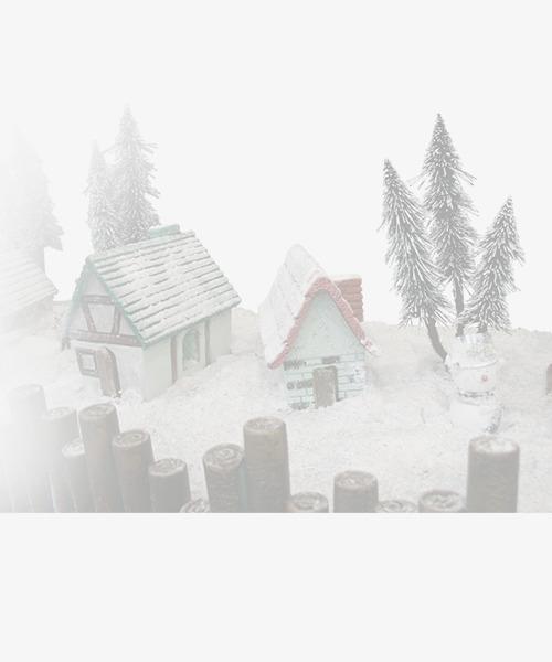 Blizzard clipart scene. Christmas graph cabins snow
