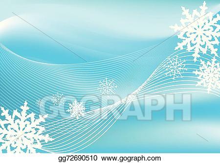 Blizzard clipart snow background. Vector illustration eps