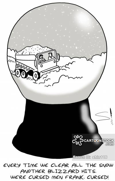 Blizzard clipart snow blower. Ploughers cartoons and comics