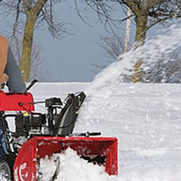 Blizzard clipart snow blower.  guys and a
