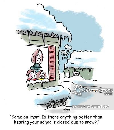 School closures cartoons and. Blizzard clipart snow day