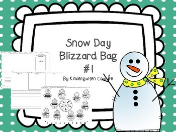 Blizzard clipart snow day. Bag by kindergarten couture