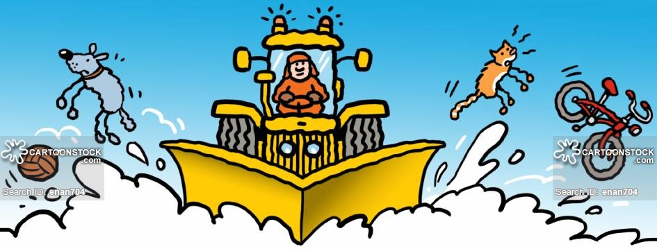 Plow cartoons and comics. Blizzard clipart snow removal