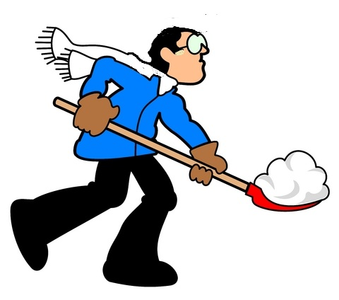 Blizzard clipart snow shoveling. And trust pastor john