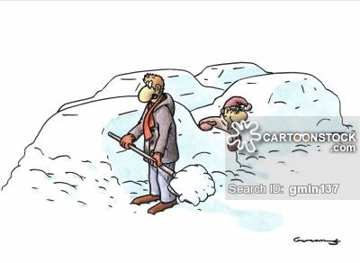 Cartoons and comics funny. Blizzard clipart snow shoveling