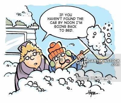 Blizzard clipart snowstorm. Cartoons and comics funny
