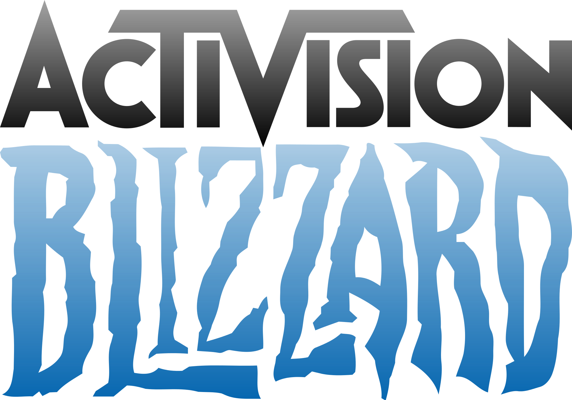 File activision svg wikimedia. Blizzard clipart transparent