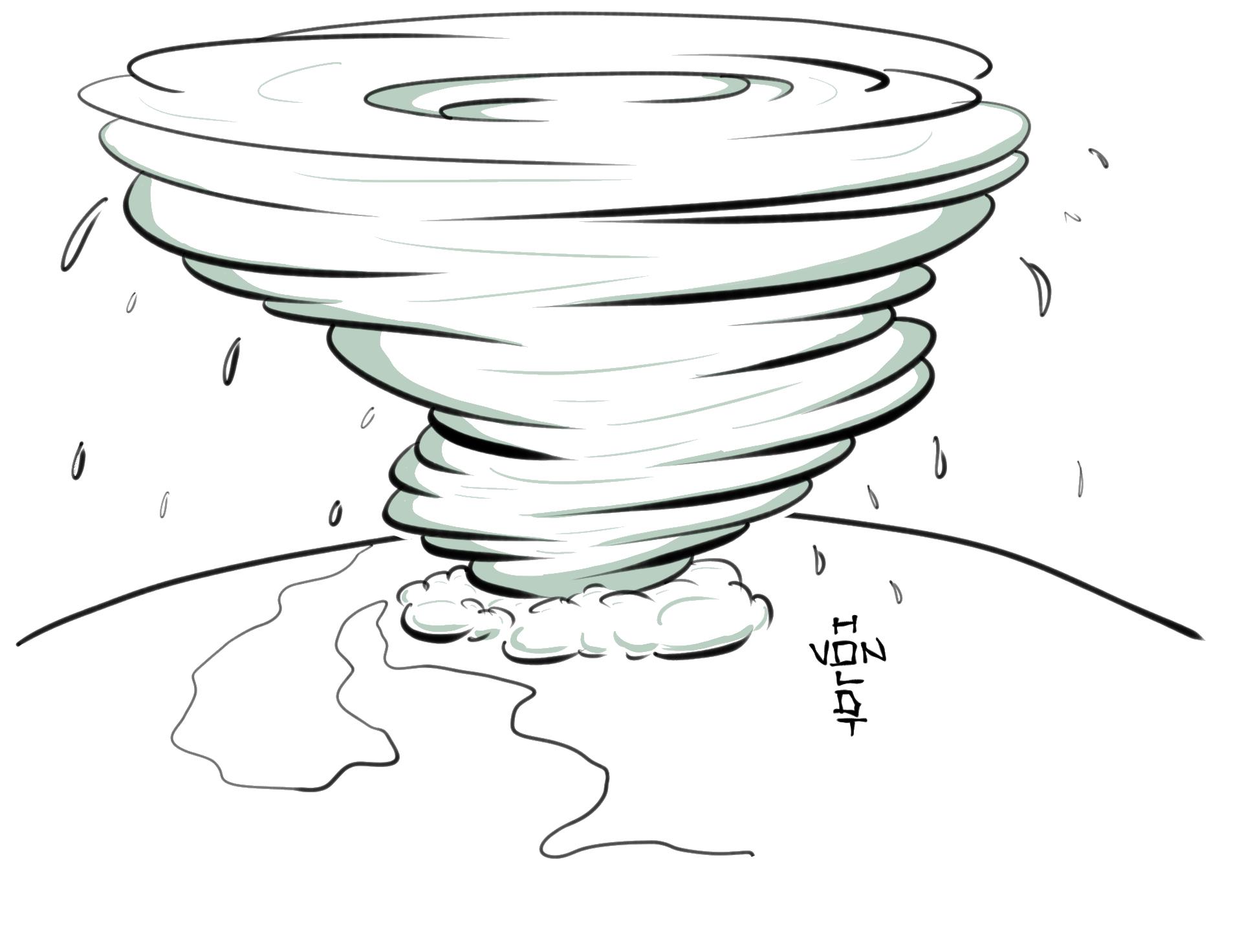 Hurricane clipart hurricane katrina. Drawing tropical cyclone tornado