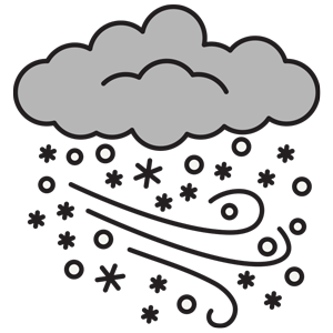 Weather nature environment esl. Blizzard clipart winter wind
