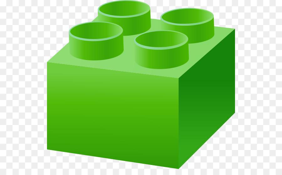 Lego toy green clip. Block clipart