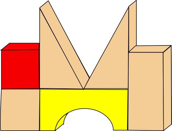 Block clipart. Unit blocks clip art
