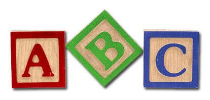 Block clipart abcd. Abc blocks loft wallpapers