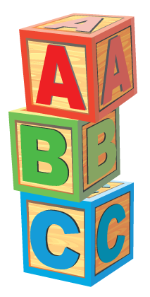 The abc s of. Block clipart abcd