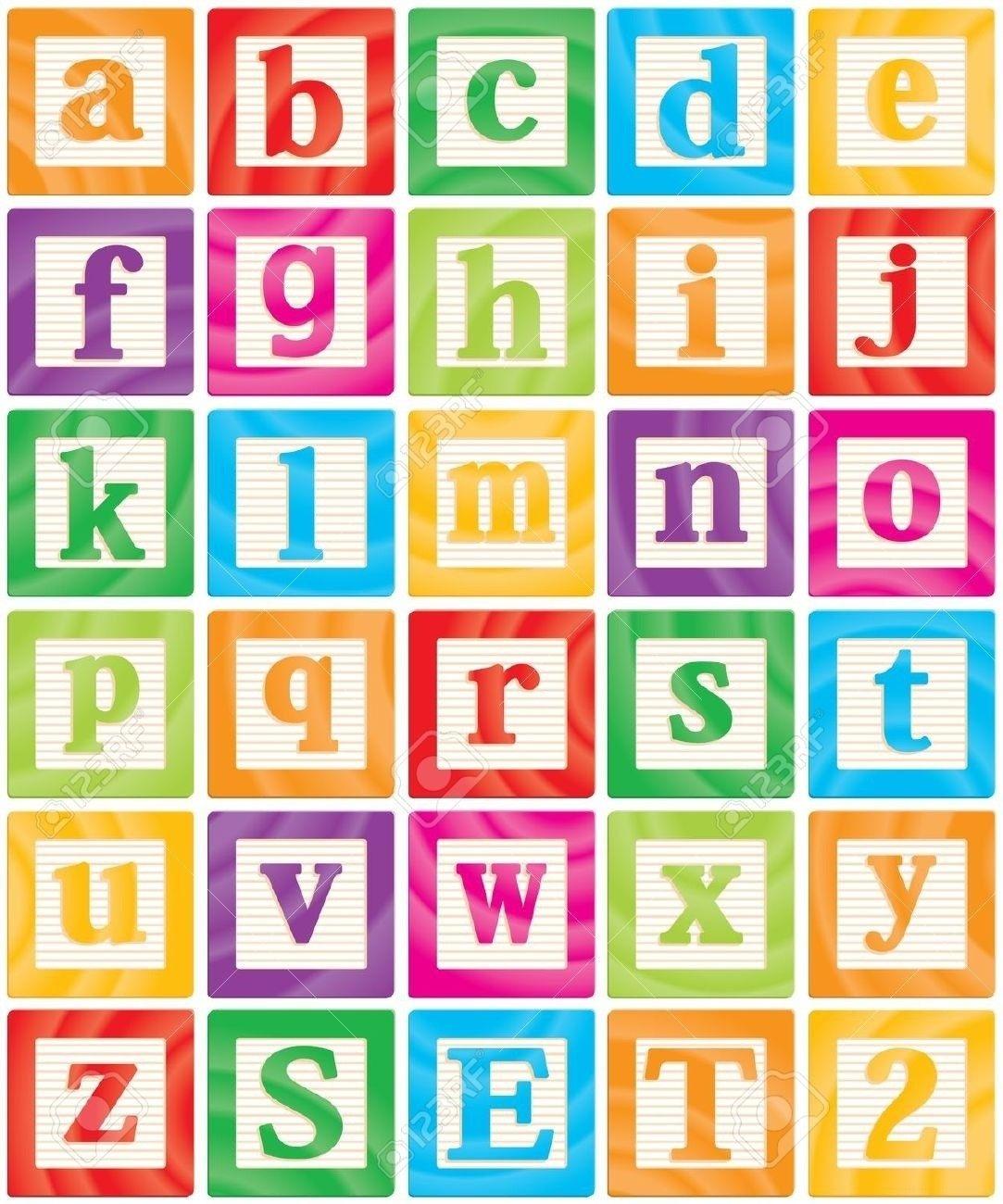 Letters clip art soa. Block clipart alphabet