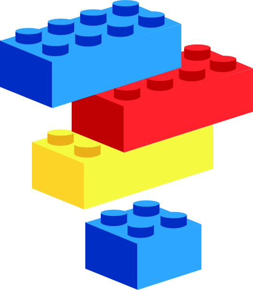 Legoblocks brunurb clip art. Puzzle clipart playing block
