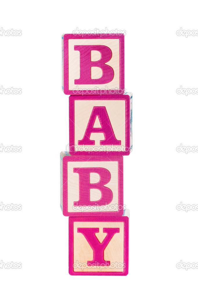 Blocks clipart baby girl. Clip art free image