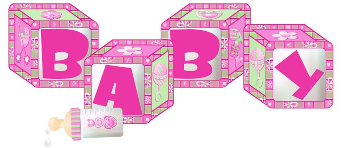 Block clipart baby girl. Free blocks cliparts download