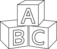 Free block cliparts download. Blocks clipart black and white
