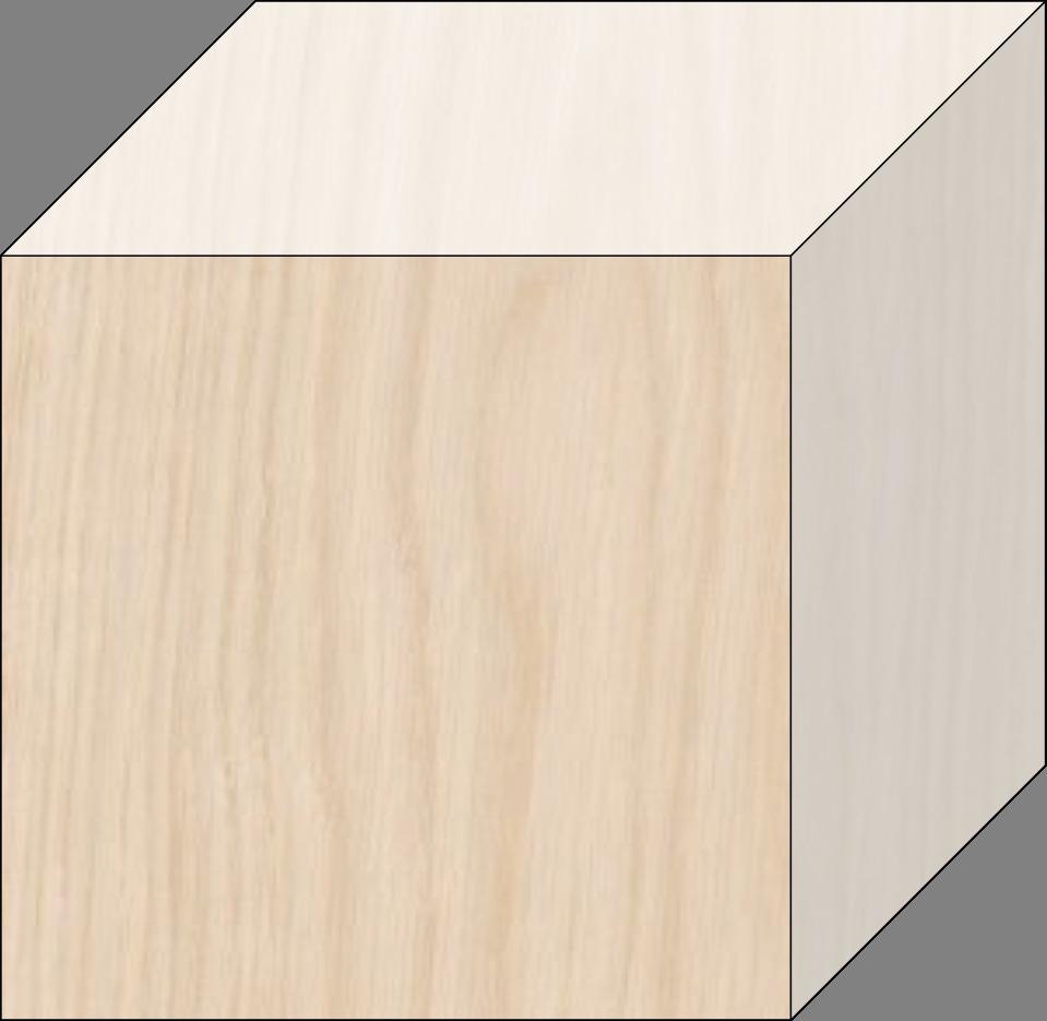 Letter impression representation. Block clipart blank block