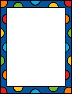Block clipart border. Free printable page borders