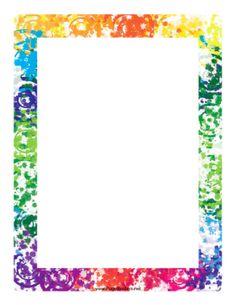 free printable stationery. Block clipart border