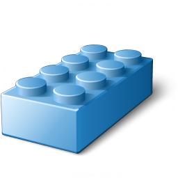 Iconexperience v collection icon. Block clipart building block