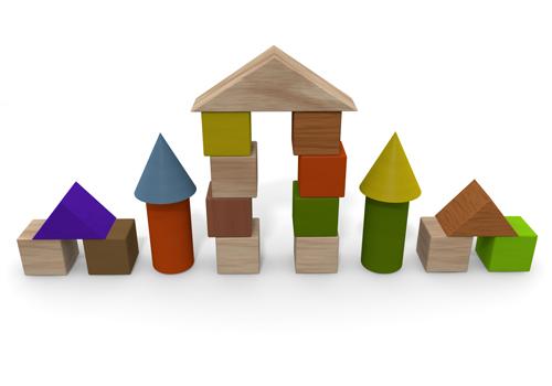 Building clipart business building. Blocks free