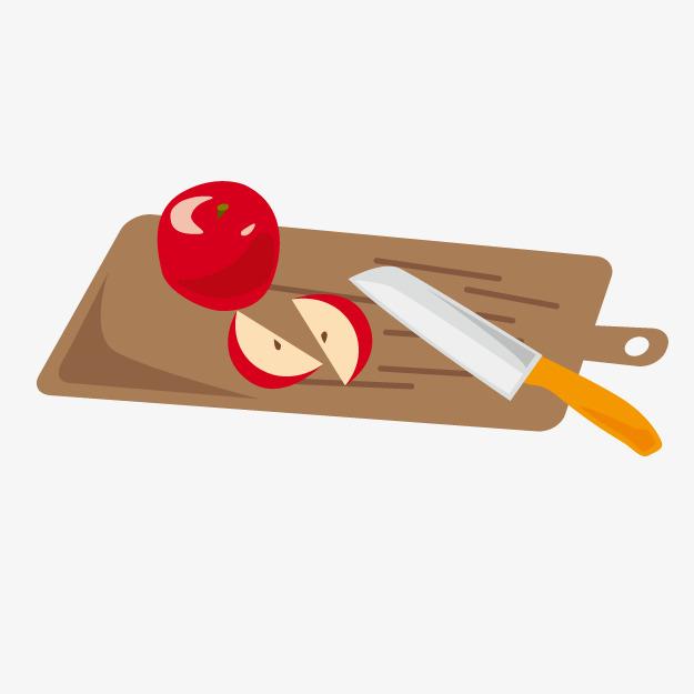 Chopping cut apples png. Block clipart cartoon