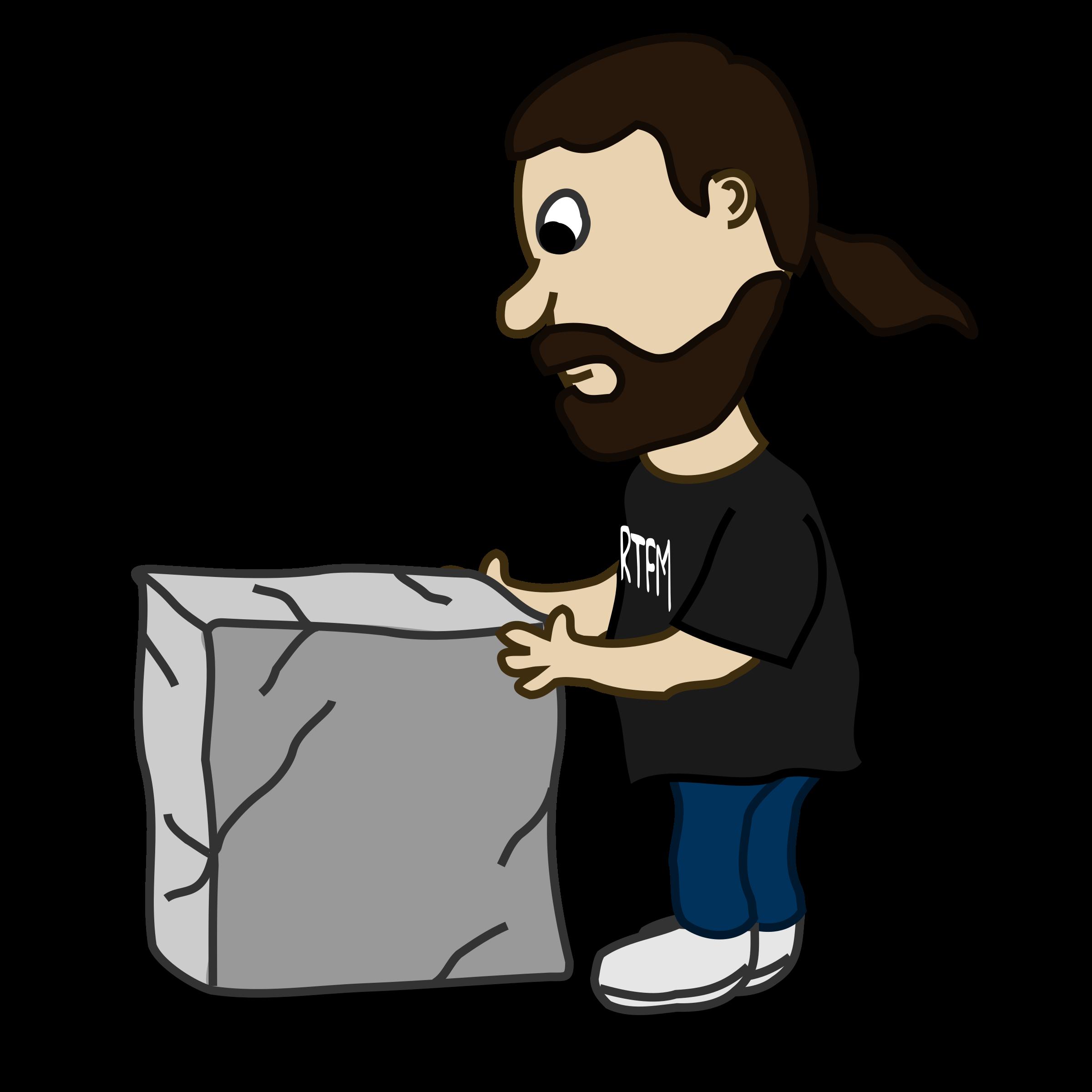Comic characters guy and. Block clipart cartoon