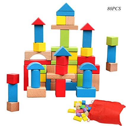 Blocks clipart colored block. Whispex wooden building set