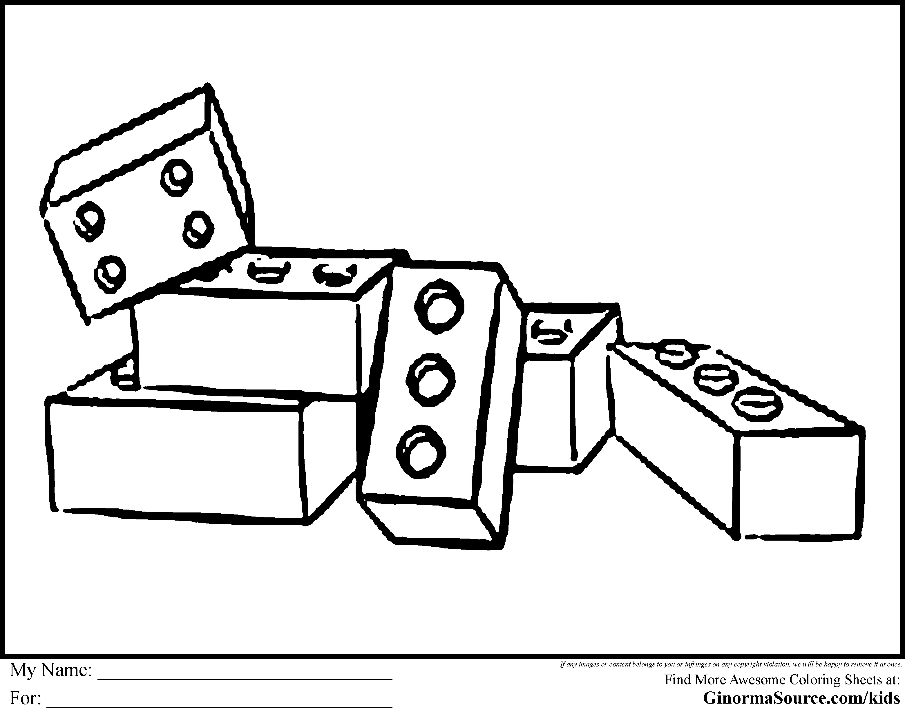 Coloring pages endermen holding. Block clipart colouring page