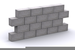 Block clipart construction block. Concrete wall free images