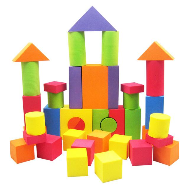 Eva foam building pcs. Block clipart construction block