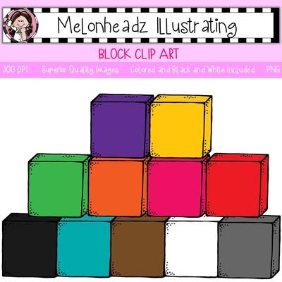 Clip art . Block clipart cube