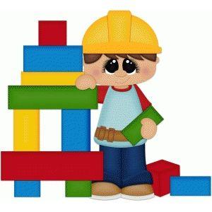Toys recherche google pinterest. Block clipart cute