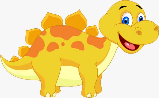 Block clipart cute. Dinosaur yellow dorsal fin