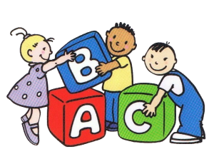 Little angels child care. Blocks clipart daycare