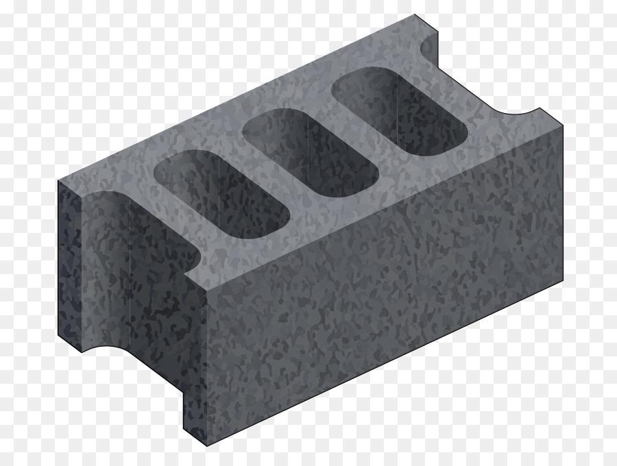 Block clipart hollow block. Building cartoon brick wall