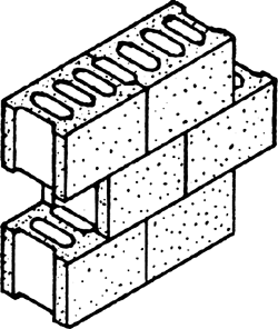 Article about by the. Block clipart hollow block