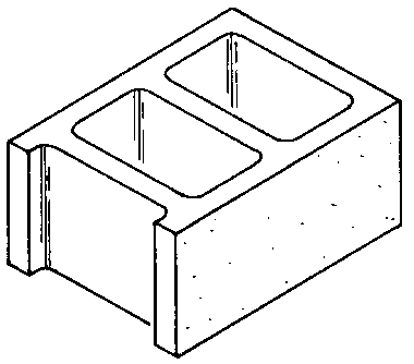 Block clipart hollow block. Blocks clip art library