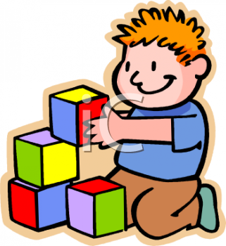 Block clipart kindergarten. Preschool center time panda