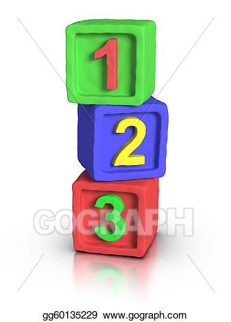 Block clipart play block. Drawing blocks numbers gg