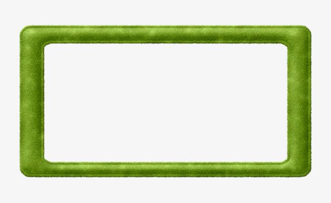 Block clipart rectangle. Green rectangular frame png