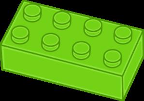 Lego . Brick clipart block
