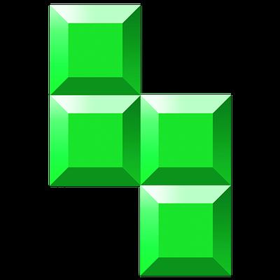Block clipart transparent background. Tetris blocks d png